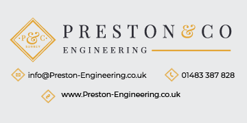 Preston Engineering logo